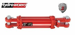 Hydroworks Double Acting 4 inch Bore 16 inch Stroke Tie Rod Hydraulic Cylinder