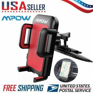 Universal Grip Car Cd Slot Holder Mount Stand For Gps Mp4 5 Tablet Phone New