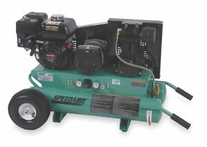 Speedaire 8 Gal Portable Air Compressor generator 4nb86