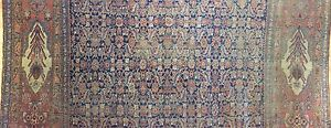 Gorgeous Garrous 1870s Antique Bijar Rug Persian Kurdish Carpet 11 9 X 15 Ft