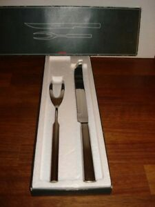 Classic Carving Set Stainless Steel Marked Stelton Box Art No 672 2
