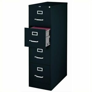 Scranton Co 4 Drawer Letter File Cabinet In Black