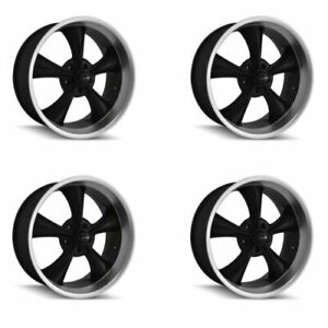 Ridler 695 2173mb Set Of 4 Style 695 20x10 5x127mm 0 Offset Matte Black Rims