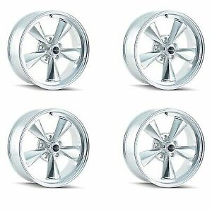 Ridler 675 5865p Set Of 4 Style 675 15x8 5x114 3mm 12 Offset Polished Rims