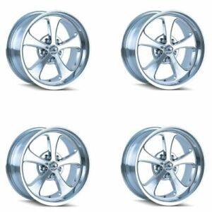 Ridler 645 8885c Set Of 4 Style 645 18x8 5x139 7mm 0 Offset Chrome Rims