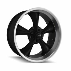 Ridler 695 7765mb Single Style 695 17x7 5x114 3mm 0 Offset Matte Black Rim