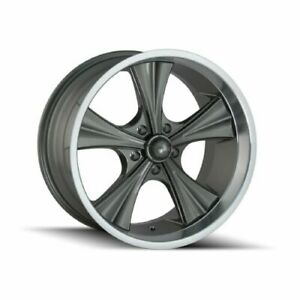 Ridler 651 2165g Single Style 651 20x10 5x114 3mm 0 Offset Grey Rim