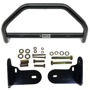 Westin 30 0005 30 1085 Safari Light Bar Black Mounting Kit For Dakota Durango