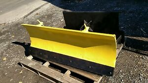 John Deere Tractor Quick Hitch Attach Skid Steer Snow Plow Power Angle 5