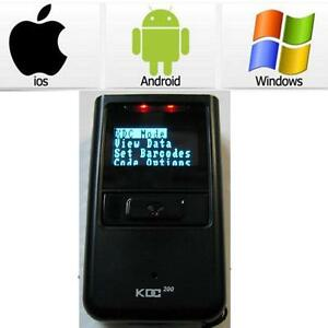 Koamtac Kdc200i Mini Portable Wireless Bluetooth Barcode Scanner Pc Ios Android