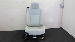 04 10 Saab 9 3 93 Convertible Seat Assembly Leather Passenger Front Right 030116