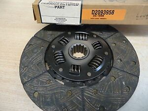 D2093958 11 Clutch Disc W dampener Some Long Allis Chalmers Oliver White Etc