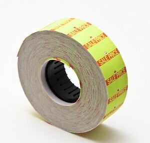 Motex Mx 5500 Label Yellow With Sale 100 Rolls Of 1000 Each Total 100 000 Labels