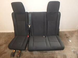 15 16 Ford Expedition 3rd Row Rear Seat Black Cloth Third Back Seat