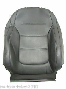 12 Vw Jetta Upper Black Front Right Leather Seat Cover Oem 10 11 12 13 14 15