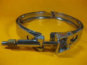 Band Clamp 8 Tube Size Quick Release New