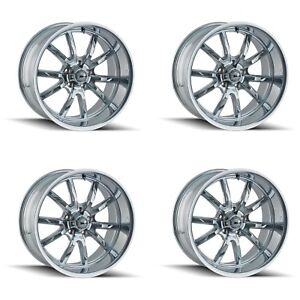 Ridler 650 8865c 650 8965c Set Of 4 Style 650 18x8 18x9 5 5x114 3 Chrome Rims