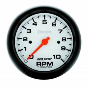 Auto Meter 5897 3 3 8 Phantom In dash Electric Tachometer Gauge 0 10 000 Rpm
