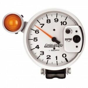 Auto Meter 233911 5 Autogage Shift Light Pedestal Tachometer 0 10 000 Rpm