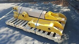 New 36 X 84 Heavy Duty Hydraulic Thumb For Caterpillar Excavators