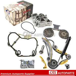 Timing Chain Kit Gasket Balance Shaft Gmb Water Pump For Gm Pontiac 2 0 2 2 2 4l
