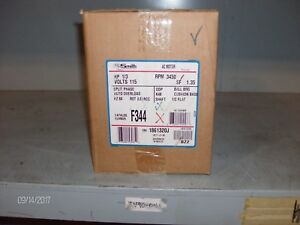 nib Ao Smith Ac Motor F344 1 3hp 3450rpm nib