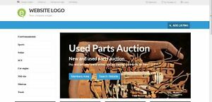 Online Auction Website Business Domain For Sale Usedpartsauction com