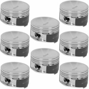 Manley 594220c 8 Pistons 18cc Spherical Dish For Ford 4 6l 5 4l