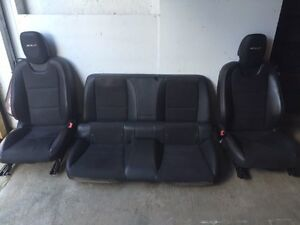 2013 Camaro Zl1 Ss Rs Oem Suede Leather Alcantara Complete Front Rear Seats