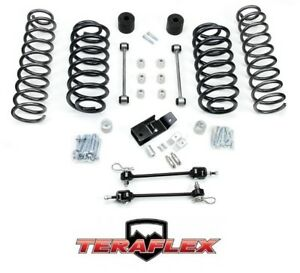 Teraflex Tj 3 Suspension Coil Lift Kit W Quick Disconnects 97 06 Jeep Wrangler