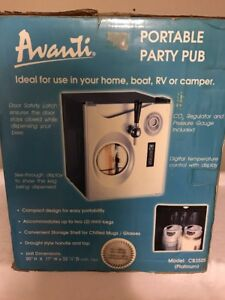 Draft Beer Home Tap Kegerator Cooler Fridge Avanti Portable Party Pub Cb350sis