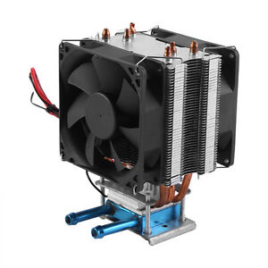 12v Thermoelectric Peltier Refrigeration Diy Water Cooling Cooler With Fan Gd