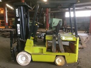Clark Forklift 6 000 Lbs Capacity Ec500 No Batteries