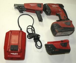 Hilti Sd4500 a18 Cordless Drywall Driver Screwdriver With Smd50 Screw Magazine