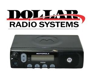 New Motorola Pm400 Ltr Uhf 438 470mhz 64ch 25w Aam50rnf9aa3an Mobile Radio Only