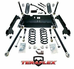 Teraflex Tj 4 Enduro Lcg Long Arm Lift Kit W 8 Flexarms 97 06 Jeep Wrangler
