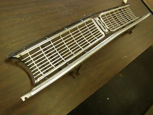 Oem Ford 1968 Falcon Grille Strait Used