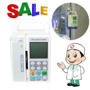Ce Contec Sp800 Automatic Infusion Pump Syringe Iv Fluid Flow Rate Control Kvo