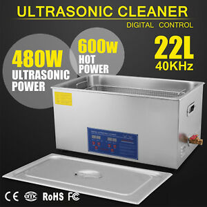 22l Ultrasonic Cleaners Cleaning Equipment For Jewelry Clean 8 Sets Transducer