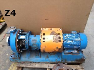 Goulds 3196 Mtx 316 Stainless Steel Centrifugal Process Pump 1x2 10 8 37 Imp