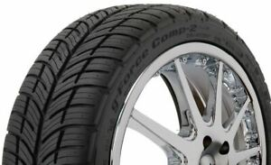 275 40r17 Bf Goodrich G Force Comp 2 A S 98w Tire 21945 Qty 1