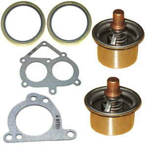 Thermostat And Gasket Kit Fits In Caterpillar Cat C15 6nz Mbn 2477133