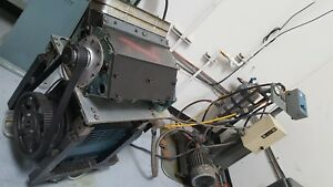 Spin Test Machine For Valve Train Development Motor Drives Cam To 10 000 Rpm