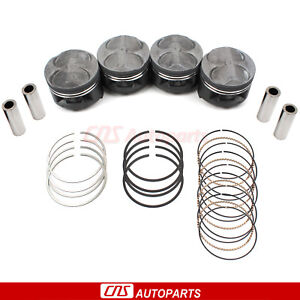 Jdm Honda Civic Type r B16b Ctr Si B16a 040 Over High Performance Pistons Rings