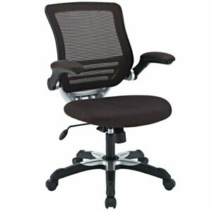 Modway Edge Mesh Office Chair In Brown