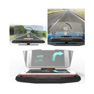 6 5 Car Hud Holder Head Up Display Projector Bracket For Gps Navigation Phone