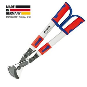 Knipex 22 27 Ratcheting Cable Cutter Shears With Telescopic Handles 9532038