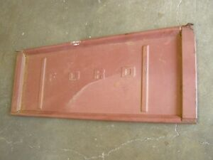 Nos Oem Ford 1953 1979 Truck Tail Gate 1954 1955 1956 1957 1958 1959 1960 1961