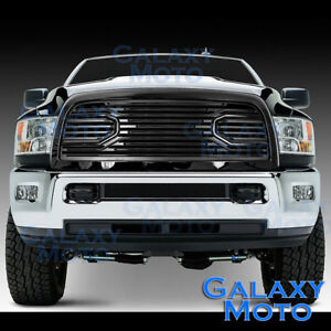 10 18 Dodge Ram 2500 3500 hd Front Hood Big Horn Black Replacement Grille shell
