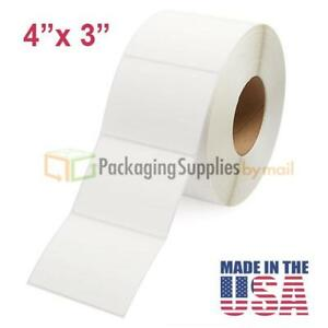 Direct Thermal Shipping Labels 4x3 300 Rolls Zebra Eltron Compatible 1950 roll